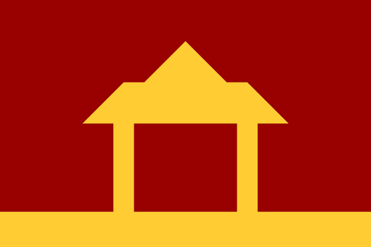 The flag of the Democratic State of Thailand by FerdinandRosenthal