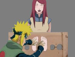 Kushina Tickle by tomson05