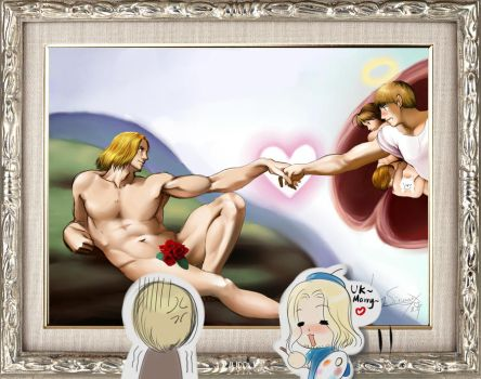 aph::The Creation of France:: by sinoaXu