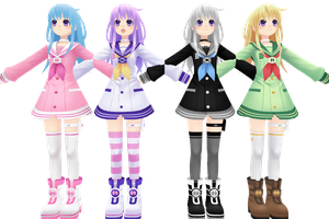 Hyperdimension Neptunia V, Nepgear by xXNekochanofDoomXx