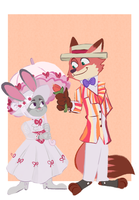 it's a jolly holiday with judy by irlsealpup