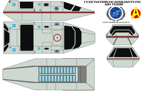 Federation Headquarters air tram by bagera3005