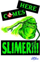 Here Comes Slimer cover by gomezvsrufio