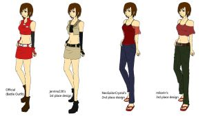 Meiko's Outfits by TalisMoon