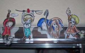 More Hetalia paper children by crystalice96
