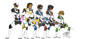voltron legendary defenders by Saquoia779