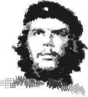 Che Guevara Typography by wondergunner