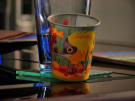 Fishy Cup HDR by Mimek