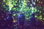 Fireflies and Ancient Magic by UntamedUnwanted