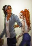 Roxanne and Kaleb by CristianaLeone