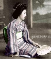 Geisha Girl by ajhistoric2