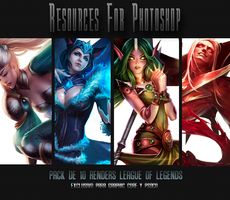 Pack de renders League of Legends by Nariele89