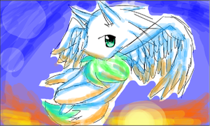 angelsonic as an eevee.:gift:. by Twilight-Entropy