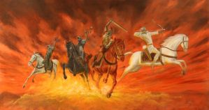 Four Horsemen by DouglasRamsey