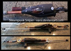 Steampunk Sniper Rifle by varsi