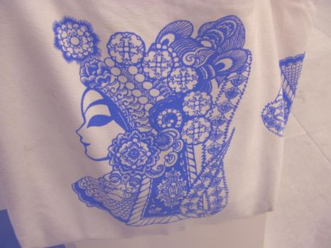 Paper Cutting Bag by BlueCerise