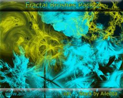 Fractal Brushes 2 by Ailedda by Ailedda