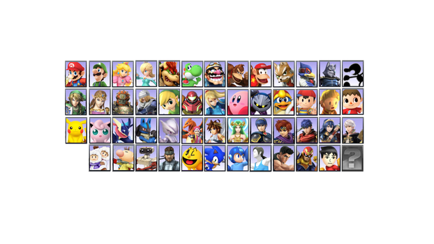 Naruto-Styled Smash Bros: Icons Only by LeeHatake93