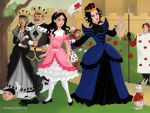 Snow White and the Evil Queen by SingerofIceandFire