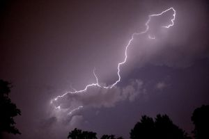 Lightning Strikes Me Again And Again!!! by TomKilbane