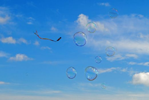 Soap bubbles by LucieG-Stock