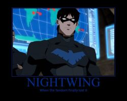 Nightwing by racerabbit