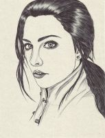 Amy lee by carldraw