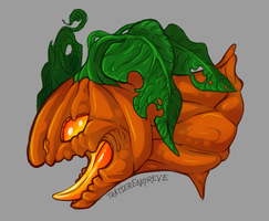 Pumpkin Queen by TratserEnoyreve