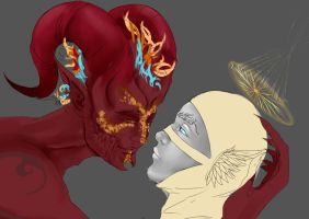 Fear no Evil WIP by im-Rem