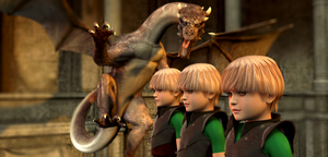 Sons of the Dragon Close-up by Valadj