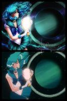 Redraw: Sailor Neptune by Axsens