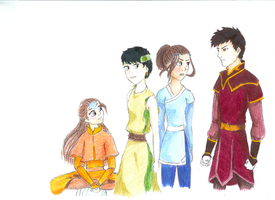 Avatar: OCs by thestoryweaver