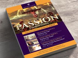 Passion Flyer and Poster - Photoshop by Godserv