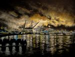 Seattle Harbor by Jbareither7