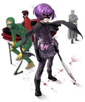 KICK-ASS: Hit-Girl standing by Ricken-Art