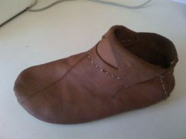Handmade Leather Shoe by connerchristopher