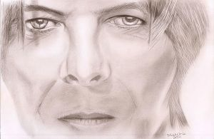 David Bowie 2 by PaulTHutchins