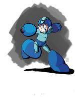 Mega Man doodle colors by MegaRyan104