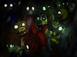 Freddy's Cage by SilverBaze