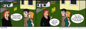 Furballed Comics: A Quiet Neighborhood by twiggy-trace