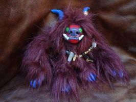 Asa the teeny monster doll by missmonster