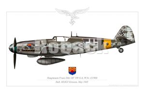 BF-109 G6 LATE VERSION by roback