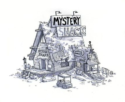 The Mystery Shack by Rincat21