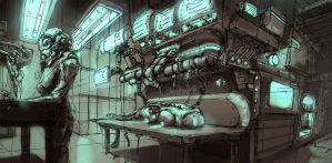 Concept Art: Laboratory by ESPj-o