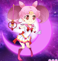 :. Sailor Chibi-Moon .: by thebigblackdevil5