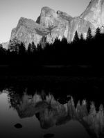 Cathedral Rocks Reflection by Geotripper