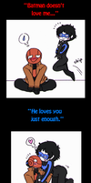 Batman - Jason x Dick love by Cloud-Kitsune