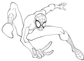 Spiderman Sketch by RickyBOB