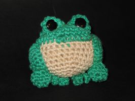Froggy crochet by dna-kun