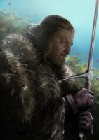 Game of Thrones- Eddard Stark by Hellkrusher